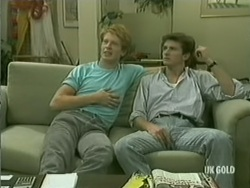 Clive Gibbons, Danny Ramsay in Neighbours Episode 0185