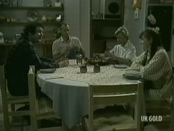 Max Ramsay, Jim Robinson, Helen Daniels, Nikki Dennison in Neighbours Episode 0186
