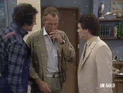 Max Ramsay, Jim Robinson, Paul Robinson in Neighbours Episode 0187