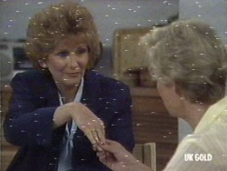 Madge Bishop, Helen Daniels in Neighbours Episode 0187