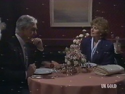 Douglas Blake, Madge Bishop in Neighbours Episode 0187