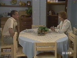 Jim Robinson, Madge Bishop in Neighbours Episode 0188