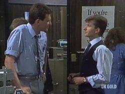 Des Clarke, Danny Ramsay in Neighbours Episode 0189