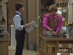 Danny Ramsay, Madge Mitchell in Neighbours Episode 0189
