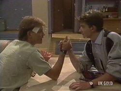 Scott Robinson, Danny Ramsay in Neighbours Episode 0189