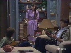 Scott Robinson, Nikki Dennison, Danny Ramsay in Neighbours Episode 0189