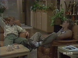 Clive Gibbons, Shane Ramsay in Neighbours Episode 0190