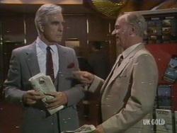 Douglas Blake, Burt Rawlings in Neighbours Episode 0190
