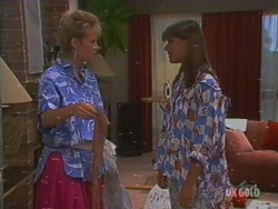 Daphne Clarke, Zoe Davis in Neighbours Episode 0191