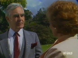 Douglas Blake, Madge Bishop in Neighbours Episode 0191