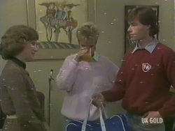 Barbara Young, Daphne Clarke, Mike Young in Neighbours Episode 0193