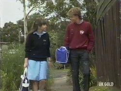Nikki Dennison, Scott Robinson in Neighbours Episode 0194