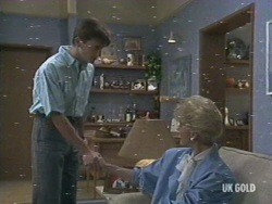 Danny Ramsay, Rosemary Daniels in Neighbours Episode 0194