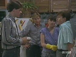 William, Scott Robinson, Nikki Dennison, Danny Ramsay in Neighbours Episode 0194