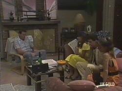 Des Clarke, Zoe Davis, Paul Robinson, Nadine in Neighbours Episode 0194