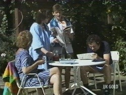 Madge Mitchell, Nikki Dennison, Danny Ramsay, Max Ramsay in Neighbours Episode 0196