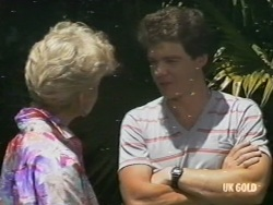 Rosemary Daniels, Paul Robinson in Neighbours Episode 0196