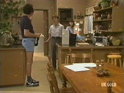 Max Ramsay, Danny Ramsay, Nikki Dennison in Neighbours Episode 0196
