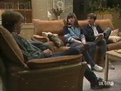 Scott Robinson, Nikki Dennison, Danny Ramsay in Neighbours Episode 0196