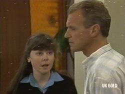 Nikki Dennison, Jim Robinson in Neighbours Episode 0196