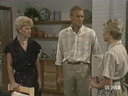 Rosemary Daniels, Jim Robinson, Helen Daniels in Neighbours Episode 0197
