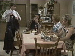 Danny Ramsay, Max Ramsay, Madge Bishop, Shane Ramsay in Neighbours Episode 0197