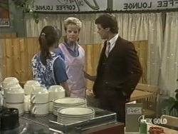 Zoe Davis, Daphne Lawrence, Paul Robinson in Neighbours Episode 0197