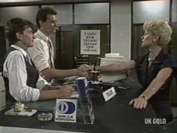 Danny Ramsay, Des Clarke, Rosemary Daniels in Neighbours Episode 0197