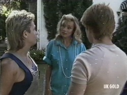 Shane Ramsay, Beth Travers, Clive Gibbons in Neighbours Episode 0197
