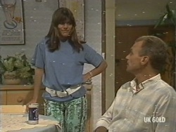 Zoe Davis, Jim Robinson in Neighbours Episode 0198