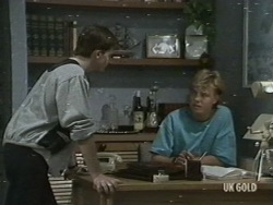 Danny Ramsay, Scott Robinson in Neighbours Episode 0198