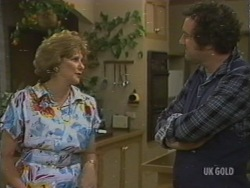 Madge Mitchell, Max Ramsay in Neighbours Episode 0199