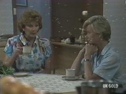 Madge Bishop, Helen Daniels in Neighbours Episode 0201
