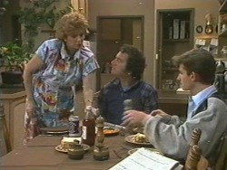 Madge Bishop, Max Ramsay, Danny Ramsay in Neighbours Episode 0202