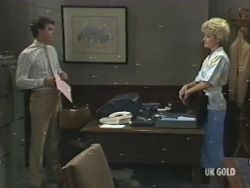 Paul Robinson, Rosemary Daniels in Neighbours Episode 0202