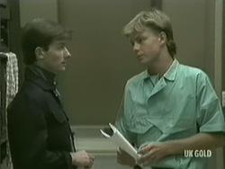 Danny Ramsay, Scott Robinson in Neighbours Episode 0203