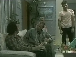Max Ramsay, Jim Robinson, Helen Daniels, Paul Robinson in Neighbours Episode 0203