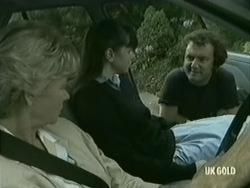 Helen Daniels, Nikki Dennison, Max Ramsay in Neighbours Episode 0203