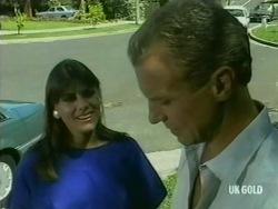 Zoe Davis, Jim Robinson in Neighbours Episode 0204