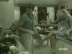 Des Clarke, Lucy Robinson, Andrea Townsend in Neighbours Episode 0206