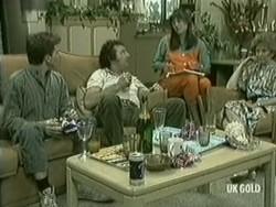 Danny Ramsay, Max Ramsay, Zoe Davis, Madge Mitchell in Neighbours Episode 0206