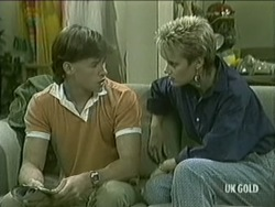 Mike Young, Daphne Lawrence in Neighbours Episode 0208