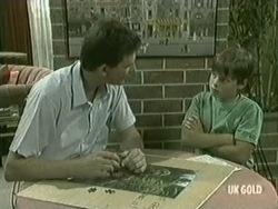 Des Clarke, Bradley Townsend in Neighbours Episode 0208