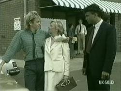 Shane Ramsay, Helen Daniels, Mr Walters in Neighbours Episode 0209