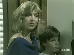 Andrea Townsend, Bradley Townsend in Neighbours Episode 0210