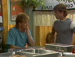 Scott Robinson, Mike Young in Neighbours Episode 0235