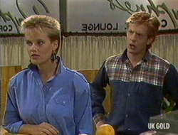 Daphne Clarke, Clive Gibbons in Neighbours Episode 0235