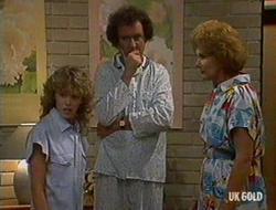 Charlene Mitchell, Max Ramsay, Madge Bishop in Neighbours Episode 0235