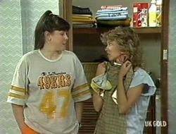 Nikki Dennison, Charlene Mitchell in Neighbours Episode 0236