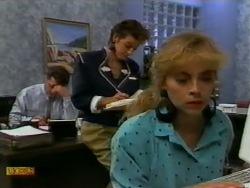 Paul Robinson, Gail Robinson, Jane Harris in Neighbours Episode 0941